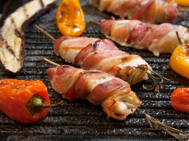 Mustard Chicken Wrapped in Parma Ham