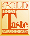 Great Taste Award 2006 - Atkins and Potts