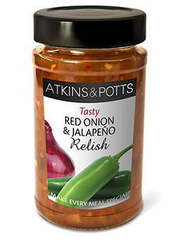 Red Onion and Jalapeno - Atkins & Potts