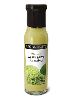 Wasabi and Lime Dressing - Atkins & Potts