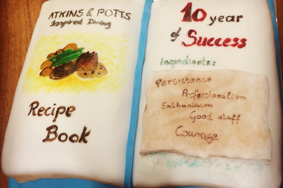 10 Years of Atkins & Potts