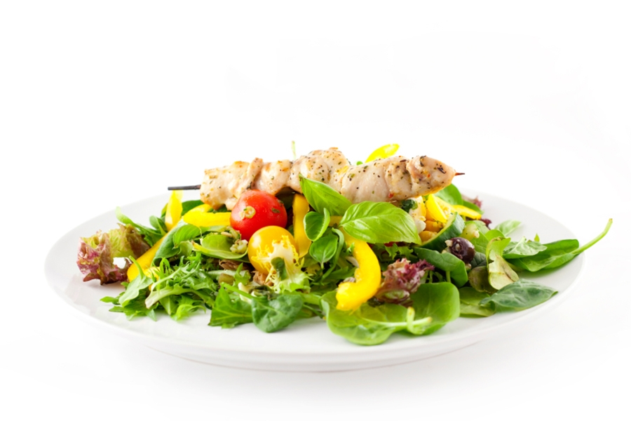 Chicken Salad with Herbes de Provence Dressing